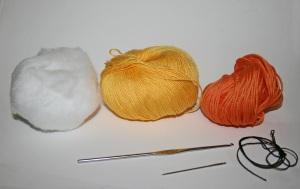 occorrente pulcino uncinetto crochet
