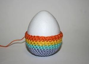 uovo crochet uncinetto pasqua