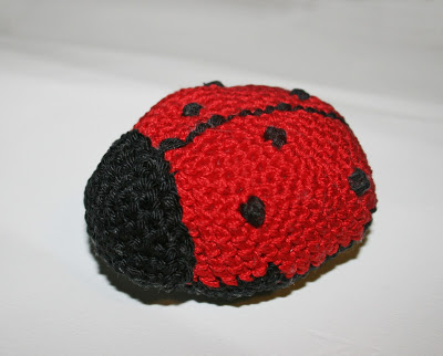 coccinella crochet uncinetto